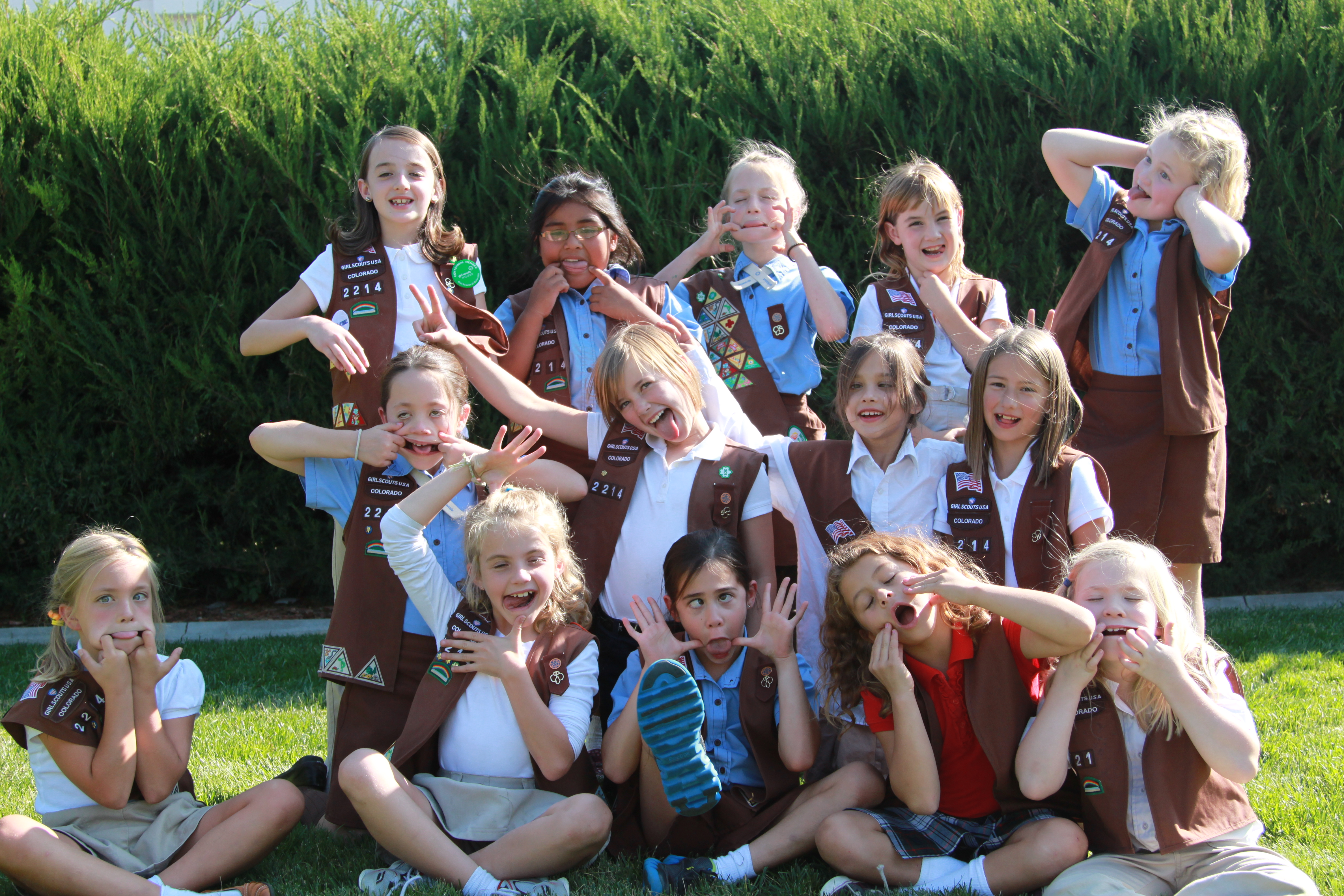 pin junior girl scouts of troop 903 from st michael s