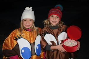 Parade of Lights girls
