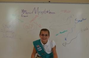 nice words Magdalena