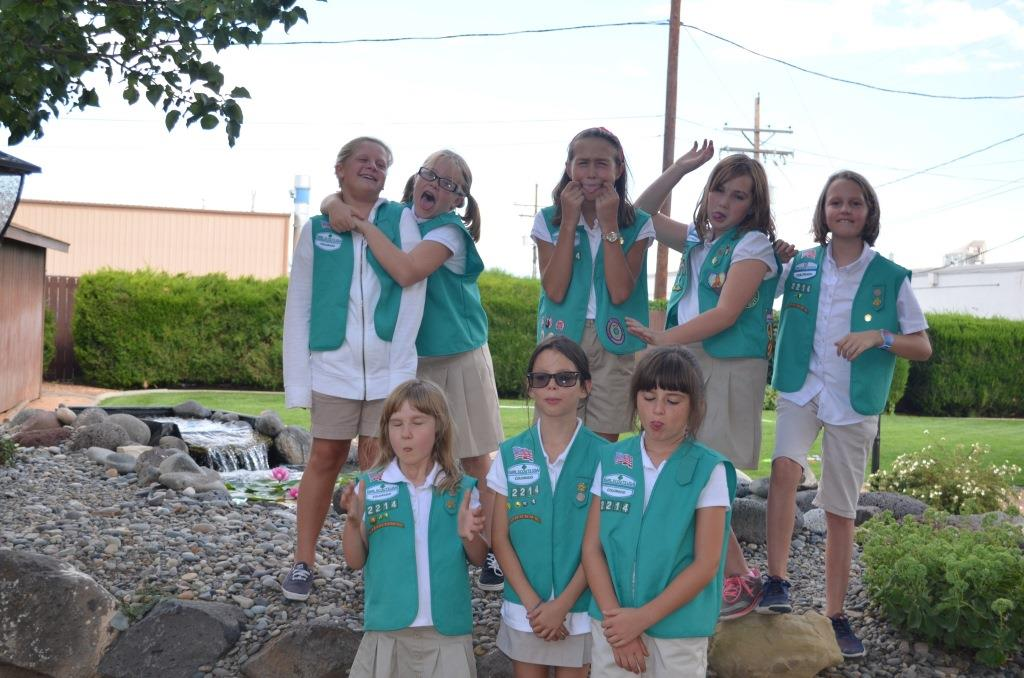 girl scout daisy girl scout troop 2214